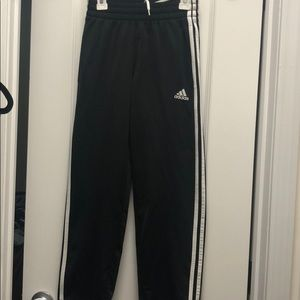 Adidas track pants size 8